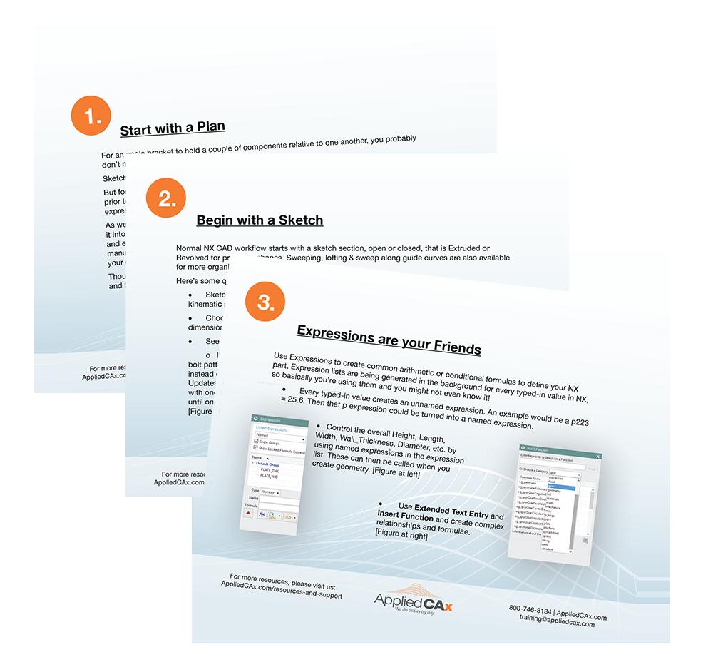 NX CAD Ten Best Practices, Tips And Tricks