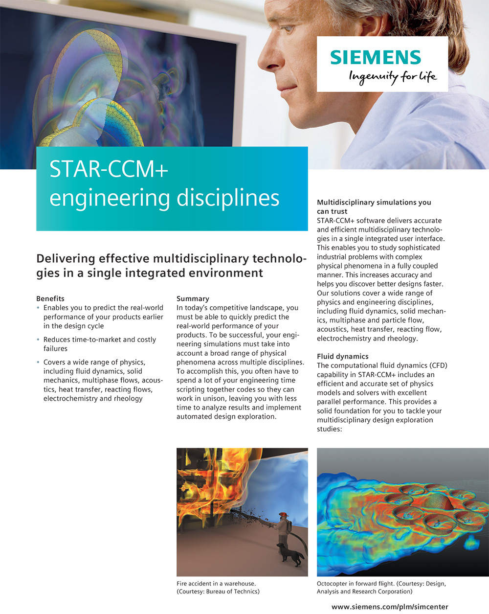 STAR CCM engineering disciplines 2018