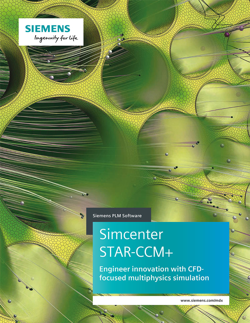 Siemens PLM Simcenter STAR CCM