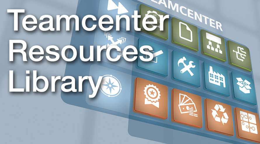 Applied CAx teamcenter resources library